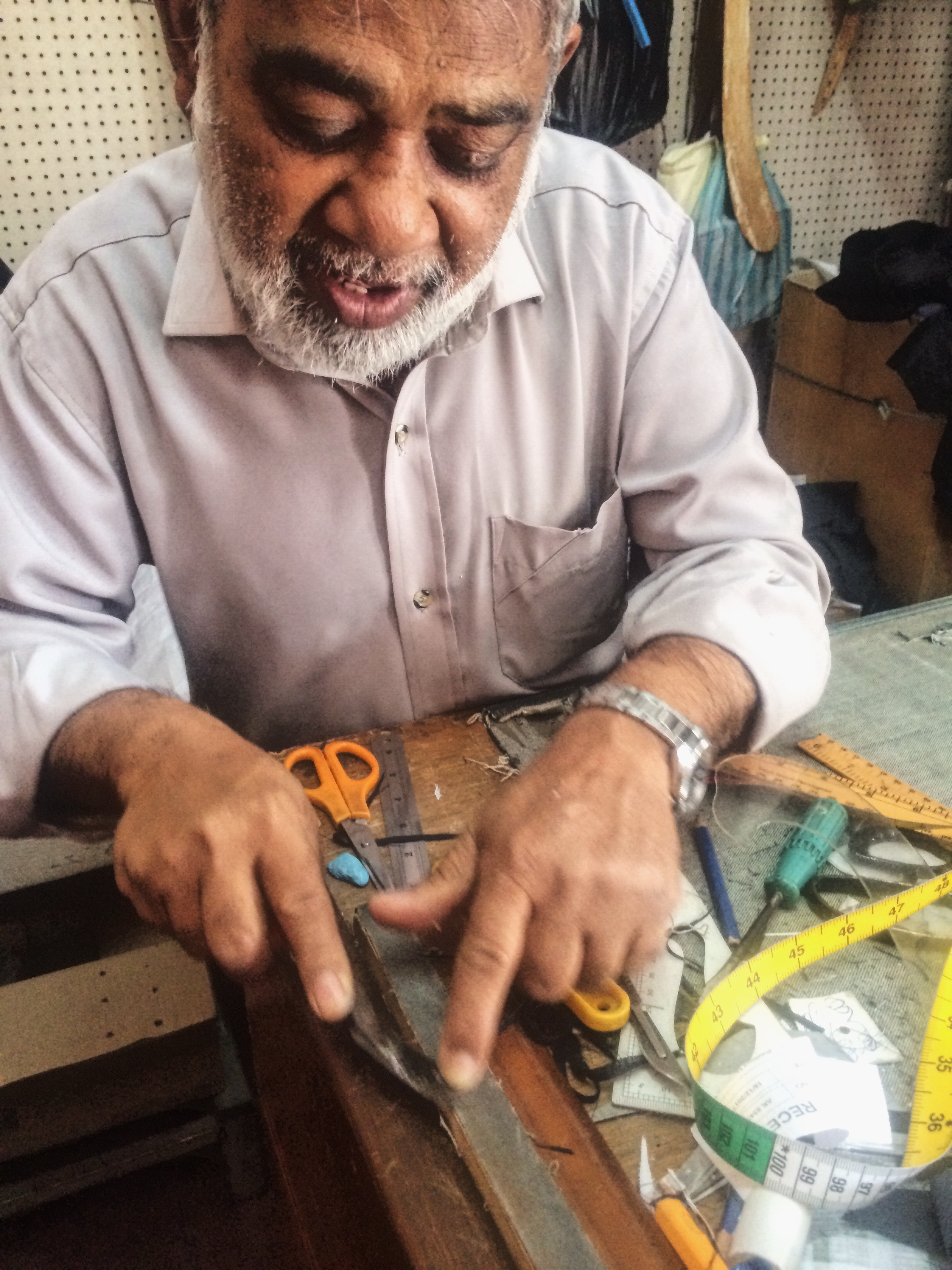 Mauritius Port Louis old trades shirt-maker