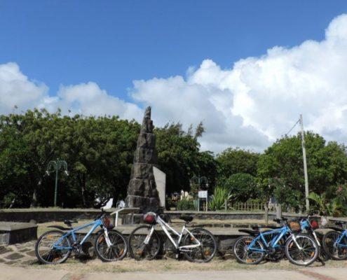 balade vélo village ile maurice