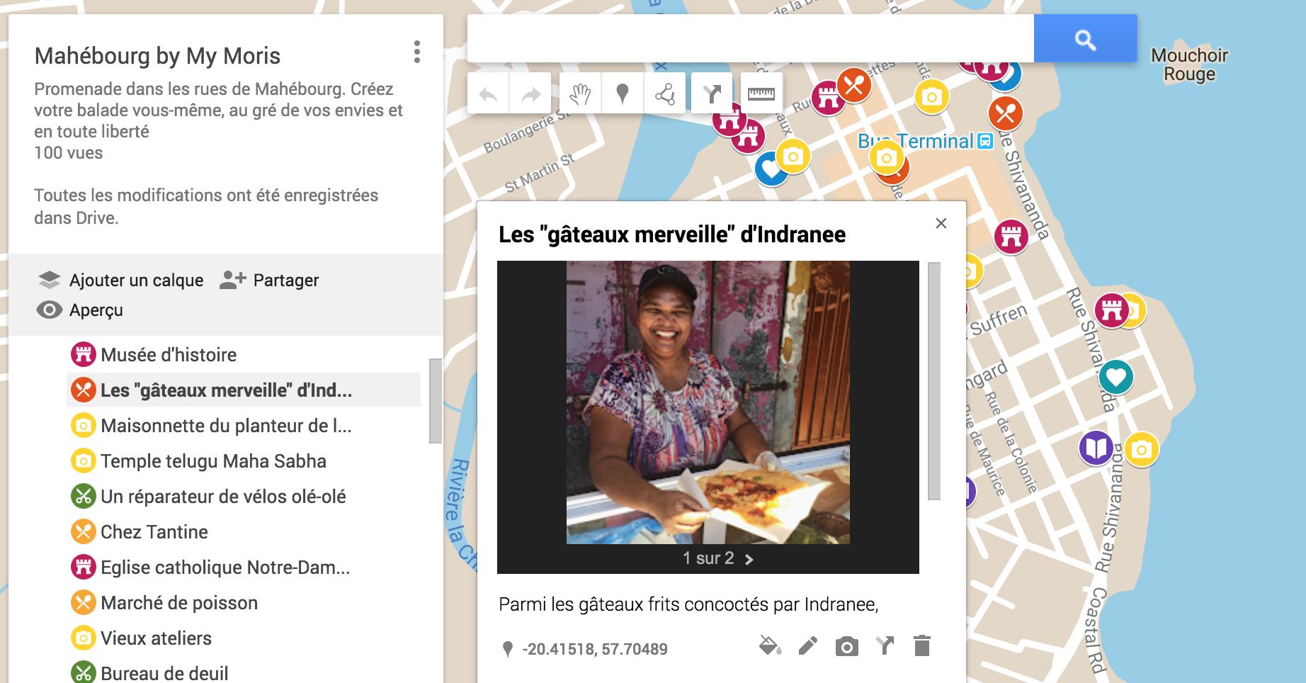 visite gratuite Mahebourg village histoire street food patrimoine