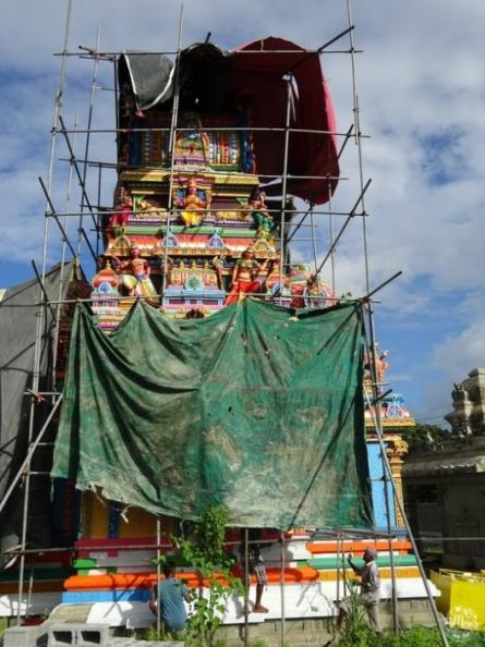 visite temple-tamoul ile-maurice architecture